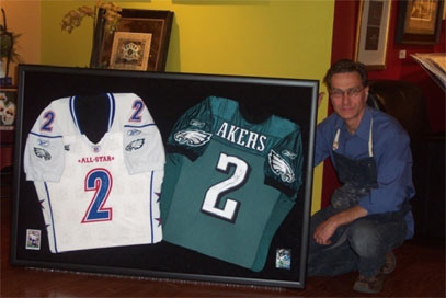 Jersey Shadowboxes